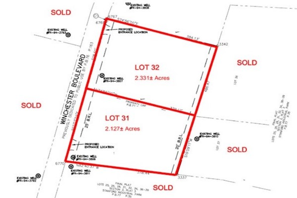 Stanford Industrial Park - Lot 31 & 32