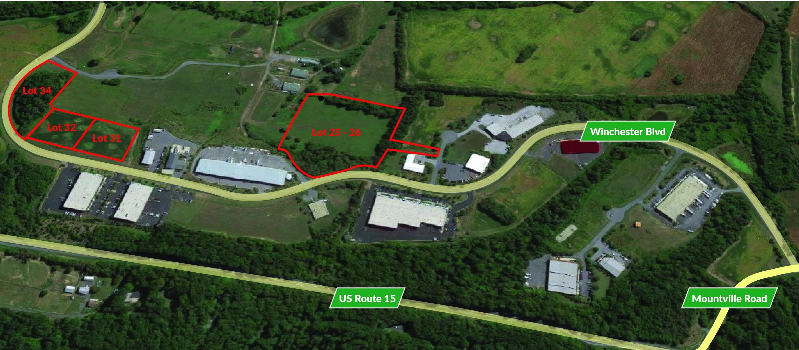 Stanford Industrial Park - Lot 25 & 26 - 11.4± AC