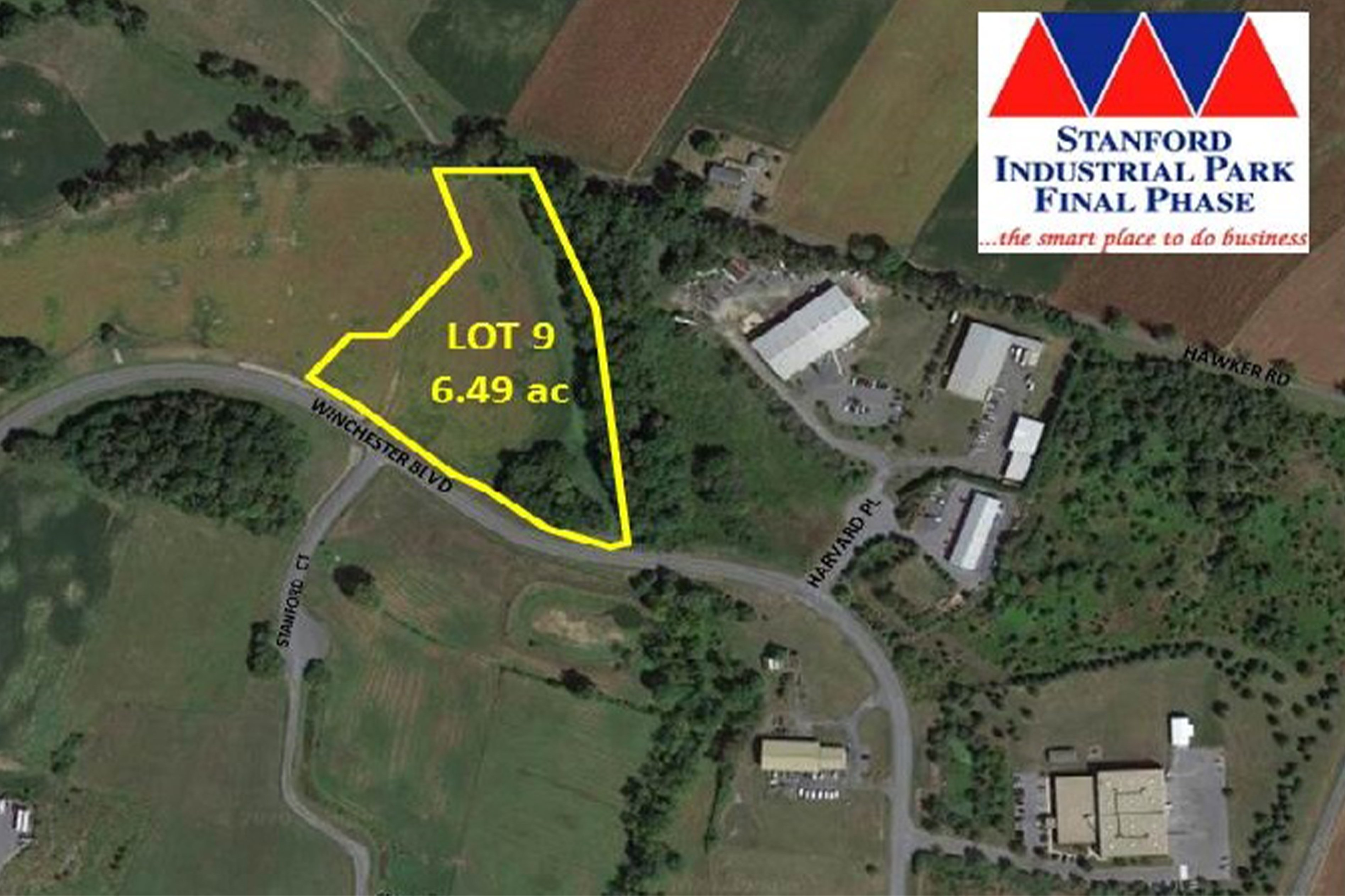 Stanford Industrial Park - Lot 9 - 6.49± AC